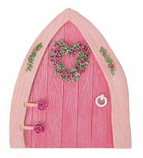 Miniature World Large Boathouse Pink Fairy Door