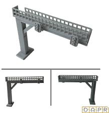 DAPR - N Gauge Model Railway Scenery Building Kit - Signal Gantry
