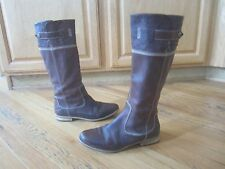 Women's Timberland tall leather boots Sz 9 w