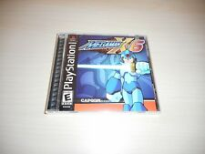 Mega Man X6 Brand New Factory Sealed Playstation Game PS1 Black Label MegaMan 6
