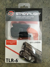 Streamlight Tlr-6 SubCompact Gun Flashlight for S&W M&P Shield 69273 (Not Ez)