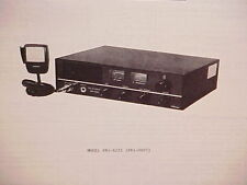 1976 JCPENNEY CB RADIO SERVICE SHOP MANUAL MODEL 981-6235 (981-0607) JC PENNEY