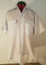 Men's United States Air Force Dress Blue Short Sleeve Shirt Size 15 1/2
