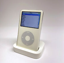 Apple iPod Classic 5th Generation 80GB - White- Used - bundled with dock/charger