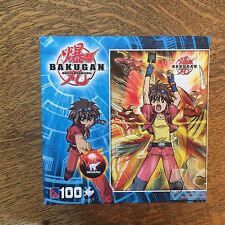 "Bakugan Battle Brawlers 100 pc Jigsaw Puzzle New 16"" x 11"""