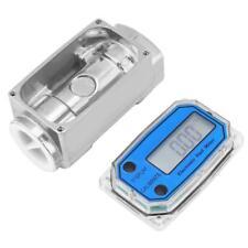 """Digital Turbine Flow Meters Diesel Kerosene Gasoline Flowmeter 15-120L/Min 1""""NPT"""