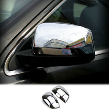Door Side Rear View Mirror Chrome Trim Cover For Jeep Grand Cherokee 2011 - 2017
