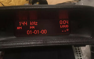 Peugeot 307 MK1 Radio Multi-function Clock Display Screen 9649090377 B00 2001-05