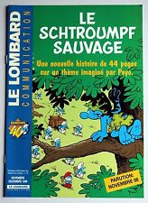 Lombard communication le Schtroumpf sauvage Peyo Culliford 1998 Adler Ferry
