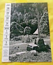 1955 en Dauphiné, dans la forêt de la Grande Chartreuse art print régionalisme