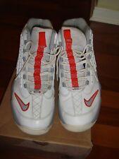 Nike Air Griffey Max 2 - 442171-108 - White Grey Orange - Men's Size 12