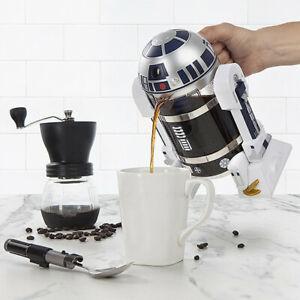 R2-D2 32oz/960ML Household Hand Made French Tee Coffee Press Pot Robot Shape U