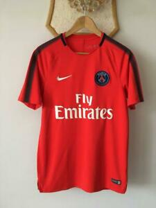 PSG PARIS SAINT GERMAIN 2017 2018 TRAINING FOOTBALL SOCCER SHIRT JERSEY NIKE MEN