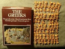 ATLANTIC 1/72 - THE GREEKS ARMY - RARE BOX ON SPRUES ENCYCLOPEDIA BOOK SERIE