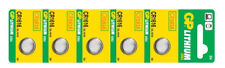 5 X GP 1616 3v Lithium Coin Cell Batteries Cr1616 Dl1616