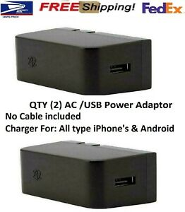 iPhone/Android 2 Packs Genuine Microsoft Zune AC/USB-C Adapter Charger JEA-00001