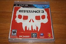 Brand New Factory Sealed PS3 Resistance 3 SHIP FREE US FAST