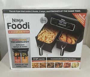 Ninja Foodi 6 In 1 2-Basket Air Fryer with DualZone Technology. Dual 4qt Baskets