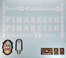 kit stickers adesivi per bici da corsa vintage PINARELLO TREVISO ITALIA