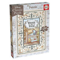 Winnie the Pooh 1000 Piece Jigsaw Puzzle - Poohsticks by Educa Borras