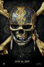 """Pirates - Dead Men Tell no Tales ( 11"""" x 16-3/4"""" ) Movie Poster Print - B2G1F"""