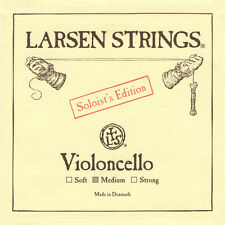 Larsen SOLOIST Cello String Set (A D G & C) Medium Tension 4/4 Full Size