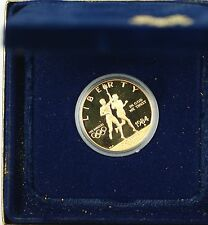1984-P U.S. Mint Proof Olympic $10 Commemorative Gold Coin as Issued