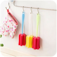 Kitchen Cleaner Tool Sponge Brush For Wineglass Bottle Coffe Tea Glass Cup $-$