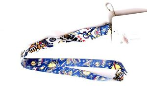 FLORIDA PANTHERS NHL LANYARD DOUBLE SIDED WITH CLIP AND MULTI LOGOS NEW