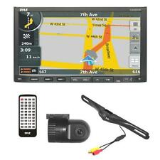 Pyle PLDNVR708 Stereo Receiver Headunit Radio Rearview Backup & Dash Cam Kit
