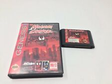 Maximum Carnage (Sega Genesis, 1994) Game And Box Only, Authentic, Tested Works