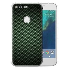 STUFF4 Phone Case for Google Nexus/Pixel/Carbon Fibre Effect/Pattern/Cover