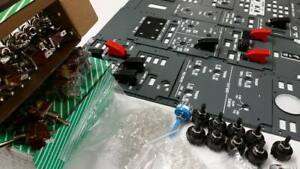 B737 complete OVH + MIP panels with electronics