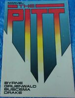 Marvel Comics Graphic Novel TPB The Pitt 1987 The Witness Col Browning Spitfire