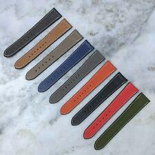 Genuine Goatskin Leather Watch Strap - 18mm/19mm/20mm