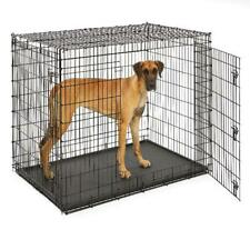 "Dog Crate Big Pet XXL Breed Cage Double Door 54"" Heavy-Duty Midwest Home NEW!"