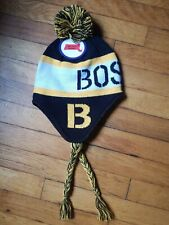 Kids Boston Bruins Baystate Apparel Pom Knit Winter Hat NWT!!!