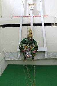 Vintage Myanmar/Burmese Marionette String Puppet Hanuman Monkey King
