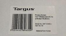 Targus ASF133WEU 13.3 Inch Privacy Screen, Widescreen (16:10)