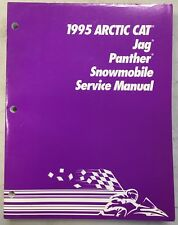 1995 Arctic Cat Snowmobile Service Manual Jag And Panther