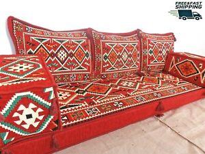 orientalische sitzecke,floor seating,arabic floor sofa,majlis,furniture - MA 36