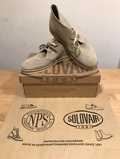 NPS SOLOVAIR Beige Suede Chukka Desert Boots! Size UK8! New! Only £109.90!