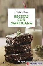 Recetas con marihuana. NUEVO. ENVÍO URGENTE (Librería Agapea)