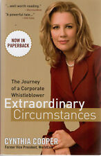 Extraordinary Circumstances. The Journey of a Corporate Whistleblower by Cynthia