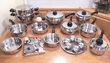 SALADMASTER TP304-316 System 7 Ply Surgical Stainless Waterless Cookware