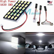 JDM ASTAR BA9S T10/921/194 5630 24-SMD Car Interior Dome Map 12V LED Panel Light