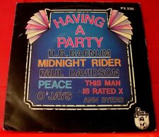 "H.B.Barnum Having A Party/Ann Byers This Man Is Rated X+4 7"" EP UK 1976 VINYL"