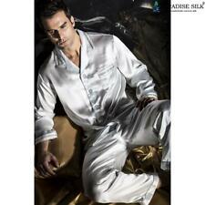 Pure 19MM Silk Men Luxury Pajamas Set X1307