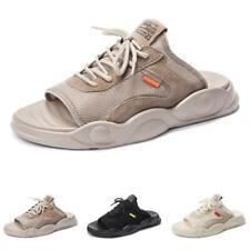 Mens Slingbacks Beach Slippers Shoes Open Toe Walking Sports Slip on Non-slip D
