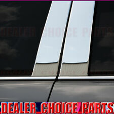 Chrome STAINLESS STEEL Pillar Posts for 2000-2005 Cadillac Deville 06-11 DTS 6pc